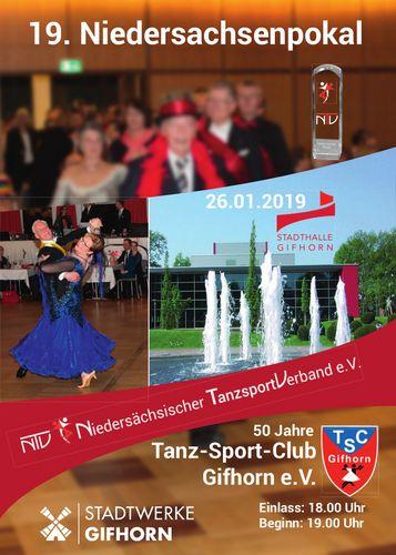 Niedersachsenpokal 2019: Die Teilnehmer stehen fest
